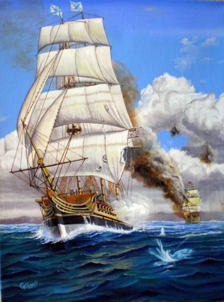 Святитель Николай - первый фрегат постройки верфи в Николаеве